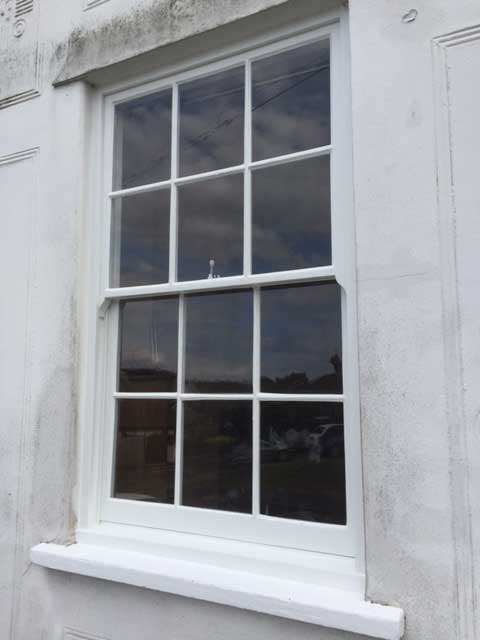 Sash Window Restoration in Sawbridgeworth Hertfordshire