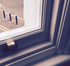 Sash window restoration draught proofing