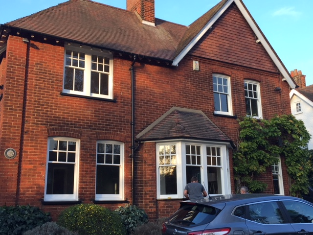 Bishop's Stortford sash window and draught proofing project by London & Herts Sash Windows
