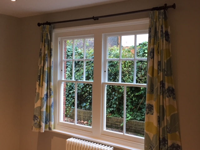 High quality renovated sash window