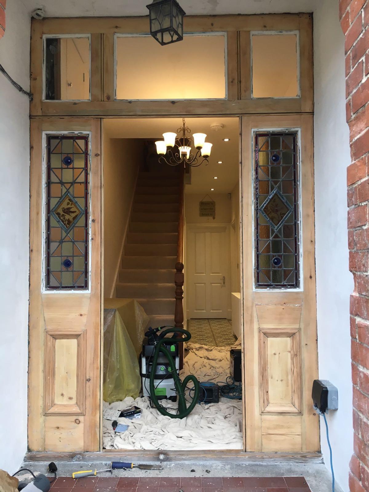 Timber doors and window repair in Saffron Walden