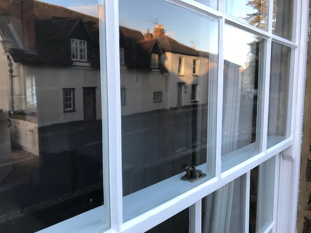 sash and timber window druaght proofing much hadham