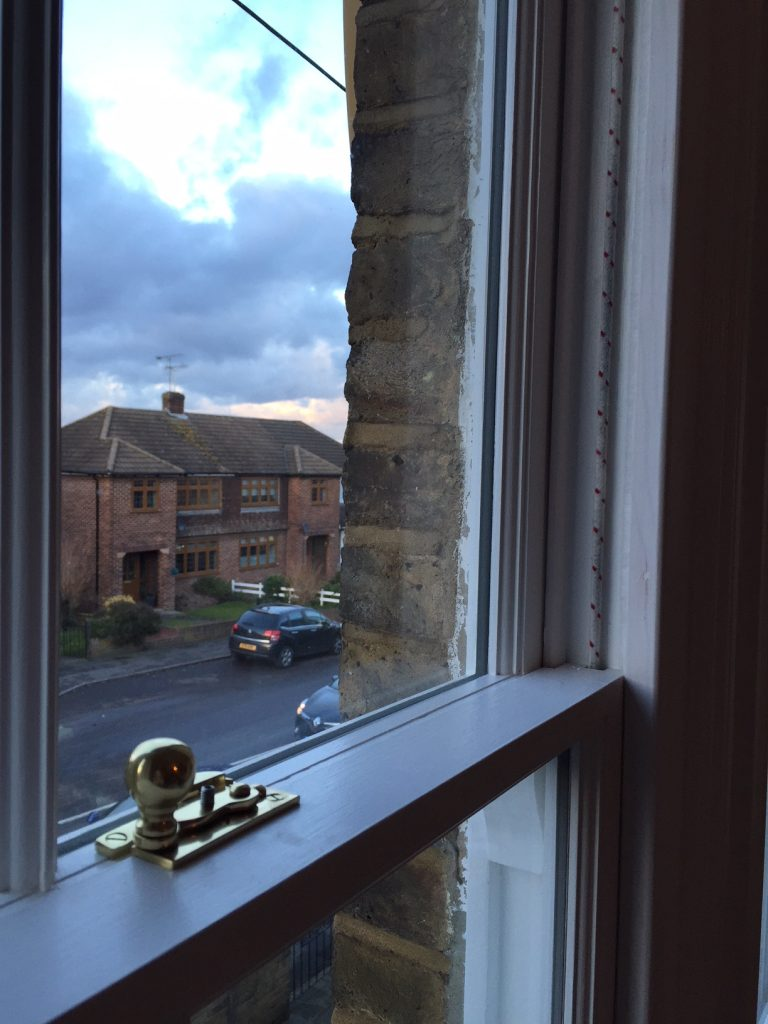 slim line double glazed sash windows created like for like