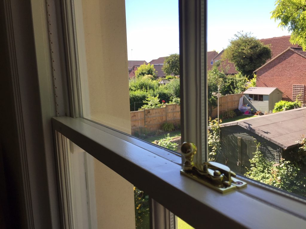 Adding slim line double glazing to traditional sash windows