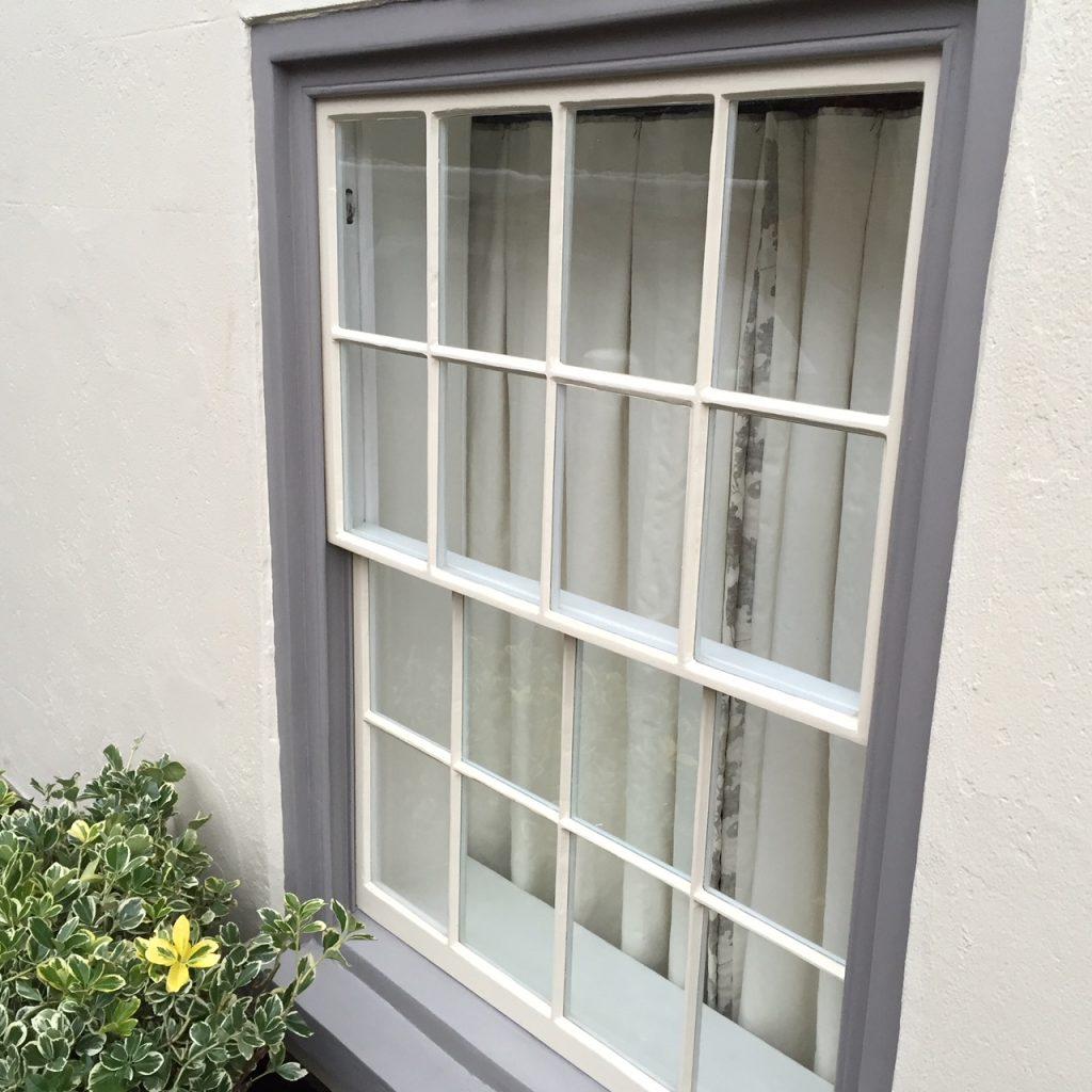 refurbished sash window much hadham