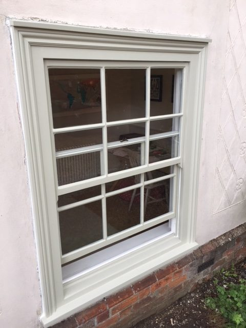original sash window restoration