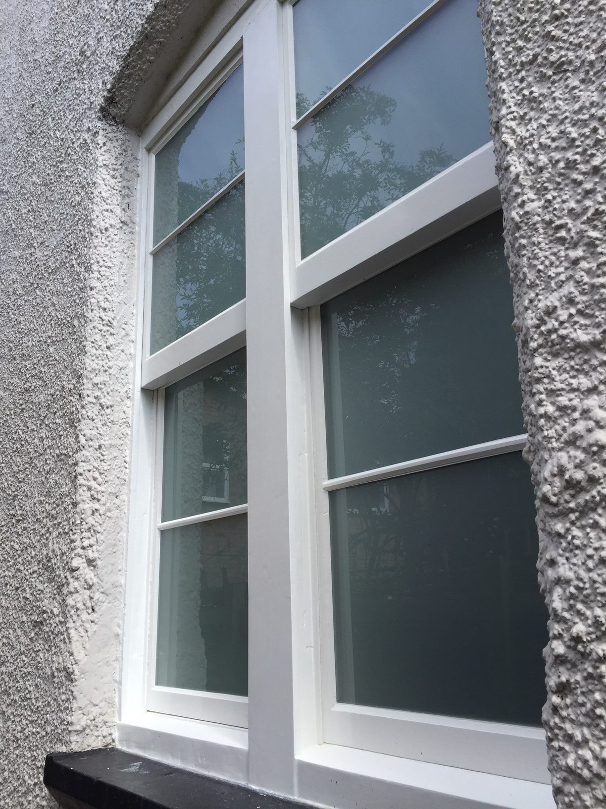 sash window restoration at a house in Hatfield Heath in Essex