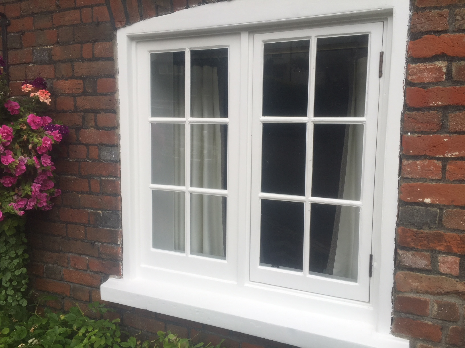 Timber casement window restoration in Thundridge, carried out by London & Herts Sash Windows