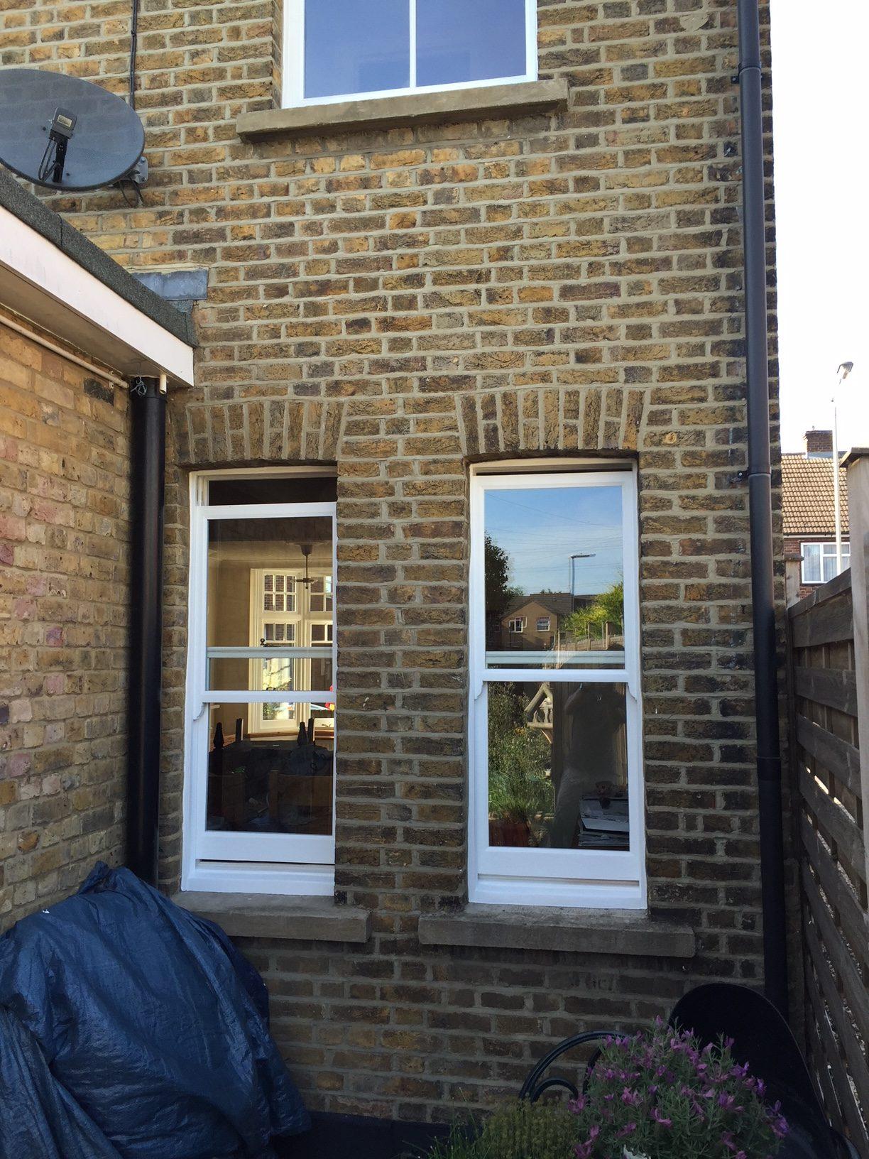 Hoddesdon sash windows restored to their former glory