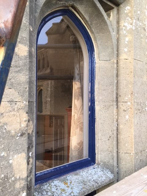 Lovely old window in need of repair
