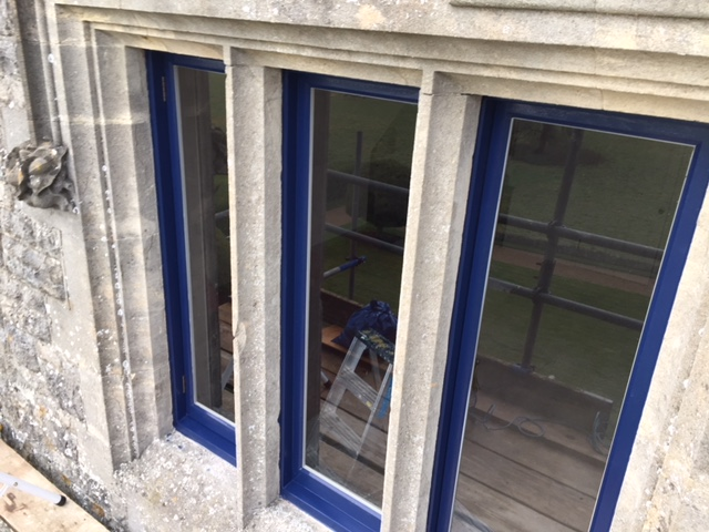 Casement window restoration